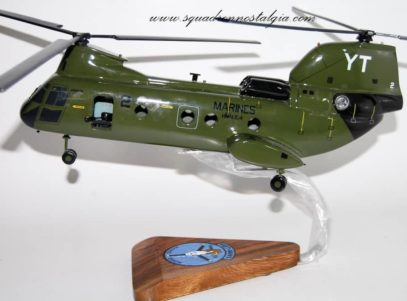 HMM-164 Knightriders (Vietnam) CH-46 Model