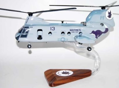 HMM-364 Purple Foxes CH-46 (2012) Model