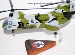 HMM-365 Blue Knights CH-46 (12) Model