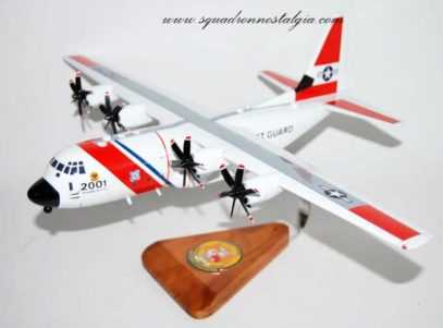 Coast Guard Elizabeth City C-130J Model