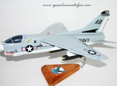 VA-72 Blue Hawks A-7e (1977) Model