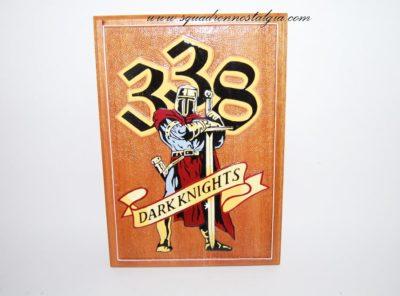 338th Dark Knights Plaque