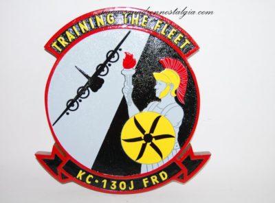 """Training the Fleet"" KC-130J FRD Plaque"