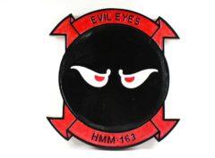 HMM-163 Evil Eyes Plaque