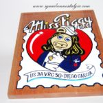 "VRC-50 Foo Dogs ""Miss Piggy"" Plaque"