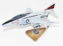 VF-154 Black Knights F-4N (USS Coral Sea) Model