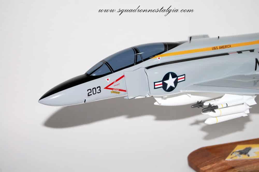 VF-142 Ghostriders F-4J (USS America) Model
