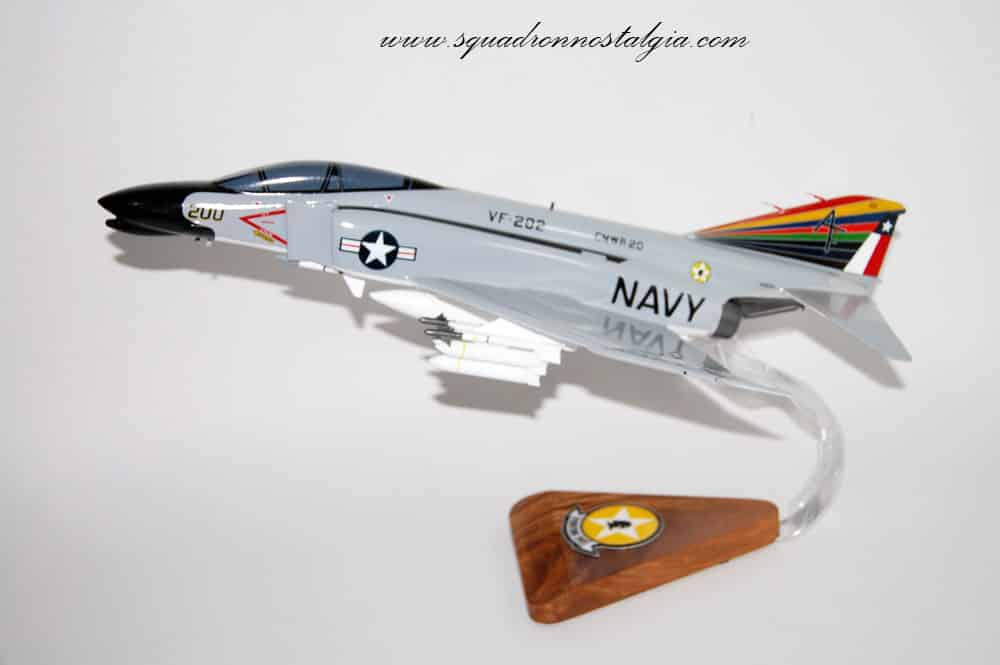 VF-202 Superheats F-4B (1977)