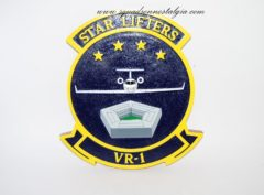 Fleet Logistics Support Squadron One (VR-1) Starlifters Plaque