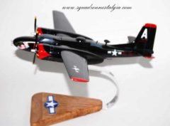 Versatile Lady A-26 Invader Wooden Scale Model