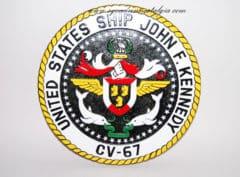 USS John F. Kennedy (CV-67) Plaque