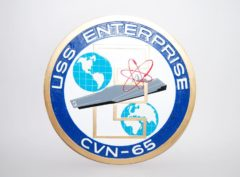 USS Enterprise (CVN-65) Plaque