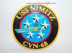 USS Nimitz (CVN-68) Plaque