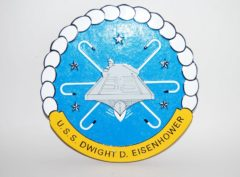 USS Dwight D Eisenhower (CVN-69) Plaque