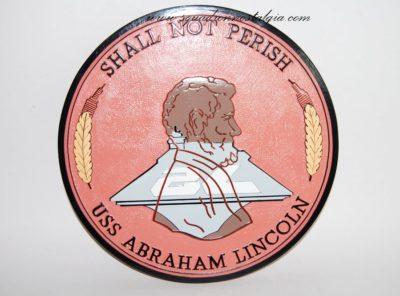 USS Abraham Lincoln (CVN-72) Plaque