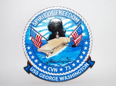 USS George Washington (CVN-73) Plaque