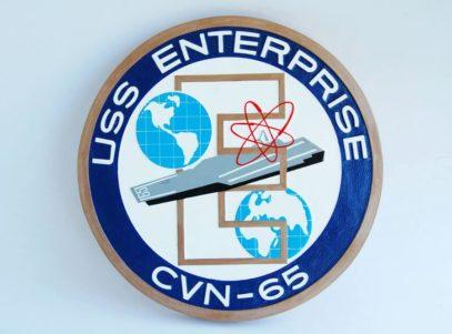 USS Enterprise (CVN-65) Plaque