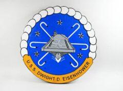 USS Dwight D Eisenhower (CVN-69) Plaque