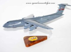 337th Airlift Squadron C-5 Wooden Model