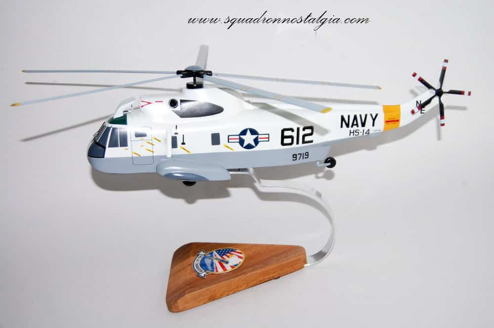 Hs 14 Chargers Sh 3 Sea King 1984 Model Squadron
