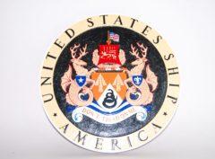 CV-66 USS America Plaque