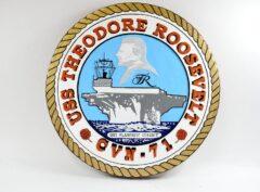 USS Theodore Roosevelt (CVN-71) Plaque