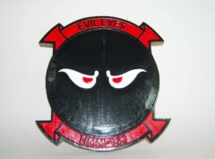 HMM-163 Evil Eyes Plaque
