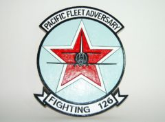 VF-126 Pacific Fleet Adversary Plaque
