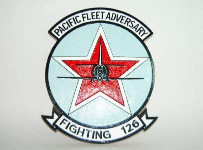 VF-126 Pacific Fleet Adversary Plaque