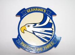 VP-23 Seahawks Plaque