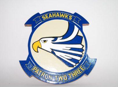 VP-23 Seahawks Plaque