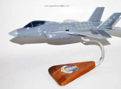 33rd Fighter Wing F-35 Lightning II Model