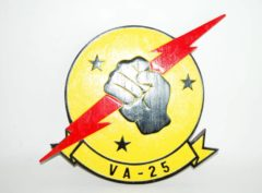 "VA-25 ""Fist of the Fleet"" Plaque"