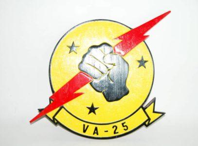 "VA-25 ""Fist of the Fleet"" Plaque"