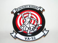 VA-52 Knight Riders Plaque