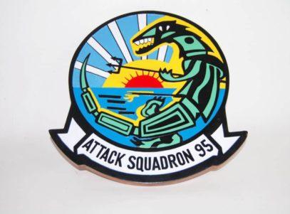 VA-95 Green Lizards Plaque