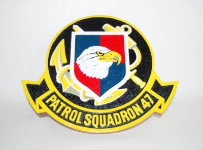"""VP-47 """"The Golden Swordsmen"""" Plaque"""