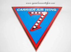 CVW-7 Wood Plaque