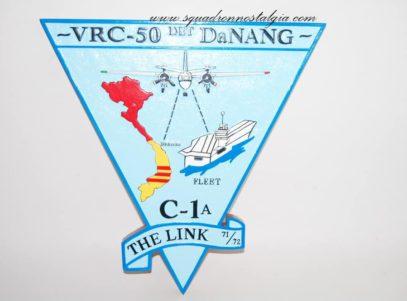 VRC-50 Det Da Nang Plaque