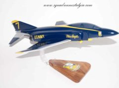 Blue Angels F-4 Phantom Model