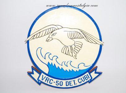 VRC-50 Det Cubi Plaque