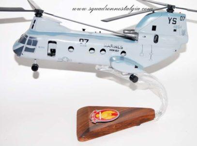 HMM-162 Golden Eagles CH-46 Phrog Model