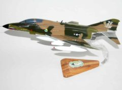 308th Fighter Squadron Emerald Knights F-4E (w/shark teeth) Model