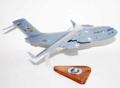 17th Airlift Squadron C-17 Model