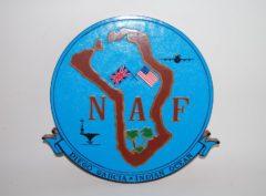 NAF Diego Garcia Plaque