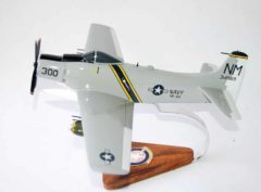 VA-52 Knightriders A-1H Skyraider Model