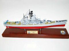 BB-63 USS Missouri Battleship Model