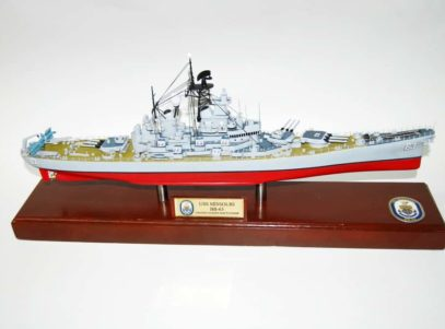 BB-63 USS Missouri Battleship Model