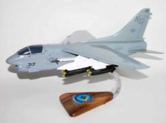 VA-146 Blue Diamonds A-7E USS Kitty Hawk Model