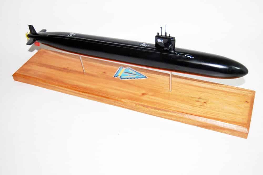 USS Omaha (SSN-692) Submarine Model